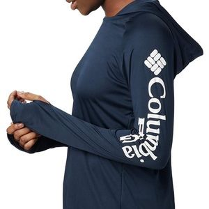 Hooded Columbia Athletic Top